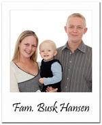 Fam. Busk Hansen