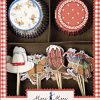 Cowboy cupcakeforme og cupcake pynt