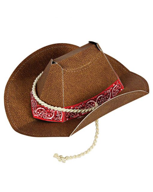 cowboyhatte til børnefødselsdag fra Meri Meri