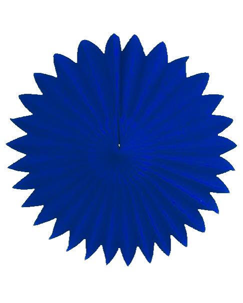 Mørkeblå papirfane