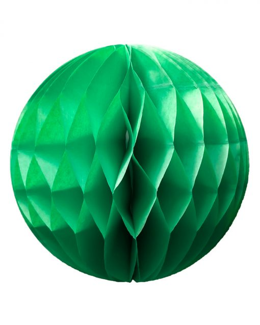 grønne honeycomb papirbolde