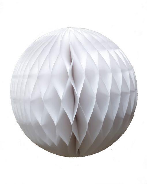 hvid honeycombs papirbolde