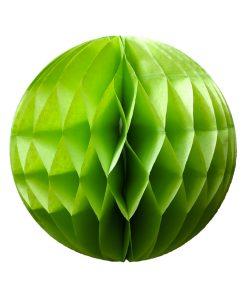 Lime grøn papirbold