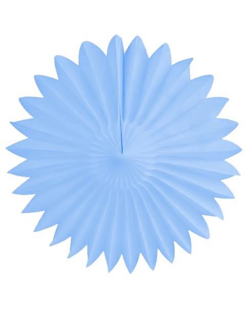 Lyseblå papirvifte