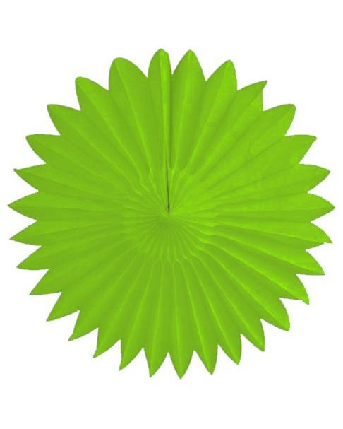 grøn papirvifte