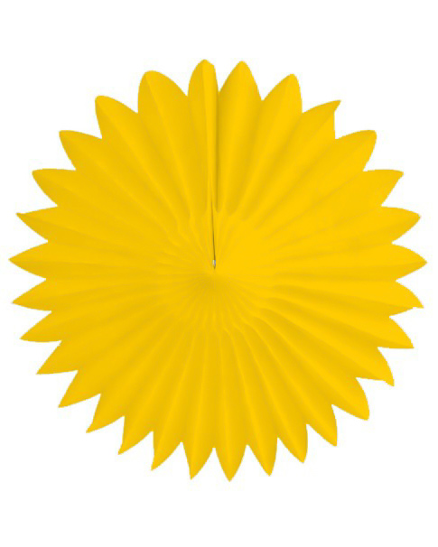 gul papirvifte