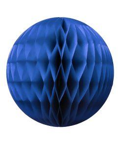 Mørk blå papirbold