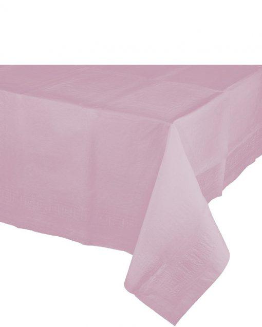 baby lyserød papirdug af god kvalitet