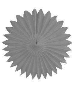 grå papirvifte