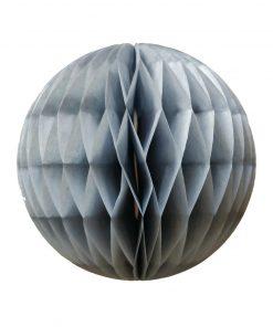 grå honeycomb bolde