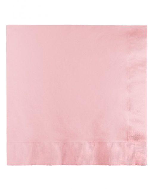 lyserøde servietter