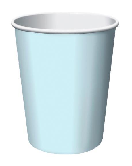 lyseblå krus