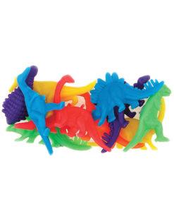 12 Små dinosaurfigurer