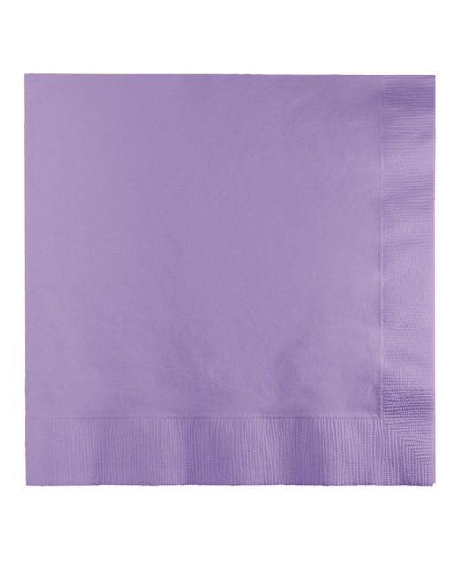 lavendel servietter 50 stk. pakke