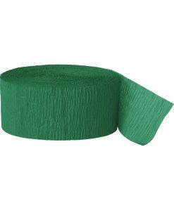 grøn crepebånd