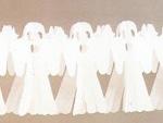 Halloween spøgelse guirlande / Halloween pynt
