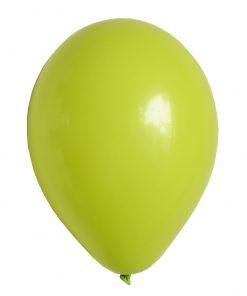lime grøn ballon