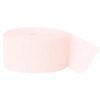 Peachy pink crepebånd