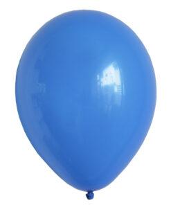 blå balloner enkelt stk.