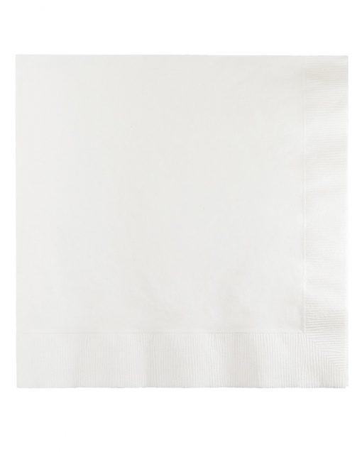 hvide servietter stor pakke