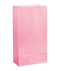 Lyserød godtepose til pigefødselsdag og babyshower