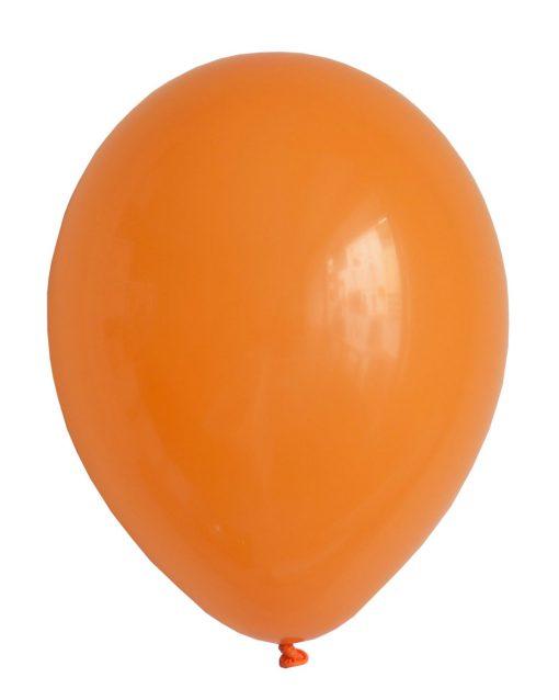 orange ballon