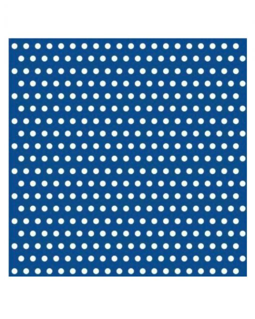 blå prikkede servietter