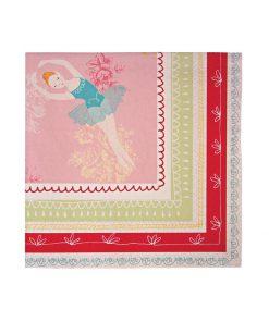 Ballerina serviet fra Meri Meri - Lille