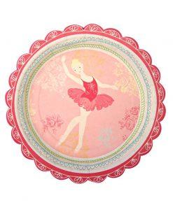 Ballerina tallerken