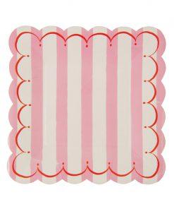 Lyserød tallerken - Toot Sweet