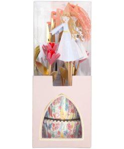 Prinsesse cupcake sæt