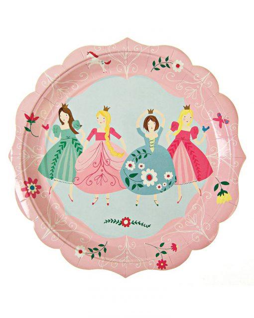 prinsesse tallerkener Meri Meri prinsessfødselsdag