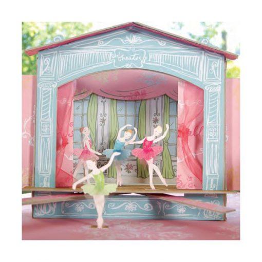 Ballerinateater - sødt tema til pigefødselsdag