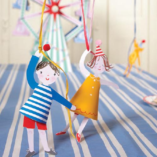 Ballonholdere fra Meri Meri - Toot Sweet Tema