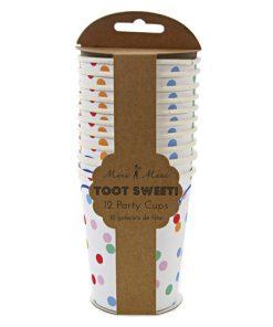 Prikket papkrus fra Meri Meri serien Toot Sweet