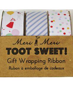 3 slags bånd i Toot Sweet serien fra Meri Meri