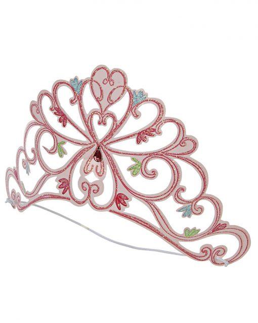 prinsesse tiara lyserød