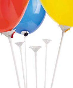 hvide ballonpinde