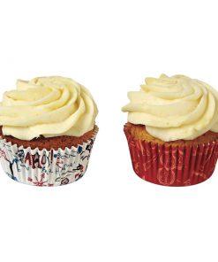 Sørøver og pirat fødselsdags cupcakeforme