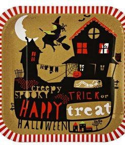 Halloween tallerken - borddækning