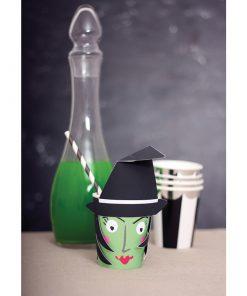 Hekse papkrus - sejt halloweenbord