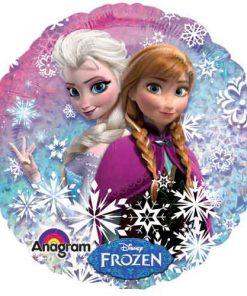 Anna og Elsa ballon i folie - Vinter