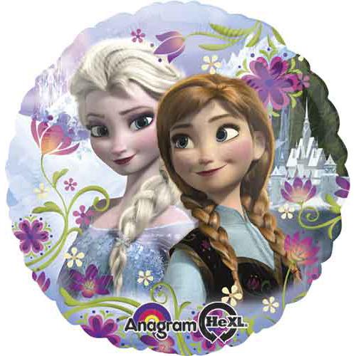Anna og Elsa ballon i folie - Sommer