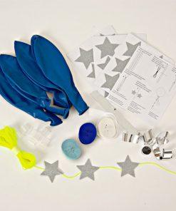Ballon kit med blå balloner fra Meri Meri
