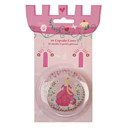 Søde prinsesse cupcakeforme fra Meri Meri