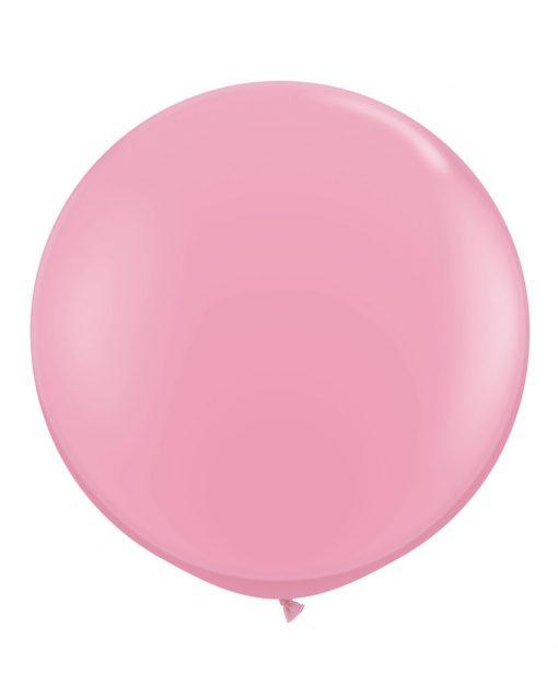 lyserød kæmpe ballon