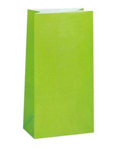 Lime grønne godteposer