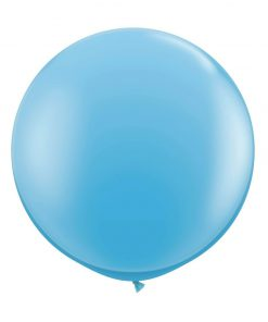 kæmpe ballon lyseblå