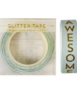 Dekorationstape med guldskrift: Awesome! Fra Meri Meri