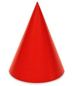 Rød fødselsdags hat til børnefødselsdag